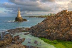 Rocks near Ahtopol village and lighthouse, Bulgaria Stock Photo