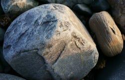Rocks near the atlantic ocean. Rocks located near the ocean at nova scotia canada royalty free stock photos