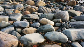 Rocks near the atlantic ocean. Rocks located near the ocean at nova scotia canada stock photography