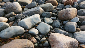 Rocks near the atlantic ocean royalty free stock photo