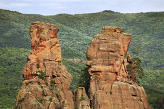 Rocks  near Belogradchik town. Bulgaria Stock Image