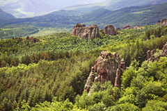 Rocks  near Belogradchik town. Bulgaria Stock Photo