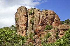 Rocks near Belogradchik town. Bulgaria Stock Images