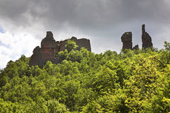 Rocks near Belogradchik town. Bulgaria Royalty Free Stock Image