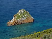 Rocks near Masua in Southwest Sardinia, Italy Stock Photos
