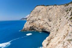 Rocks near Porto Katsiki Beach, Lefkada, Greece. Rocks near Porto Katsiki Beach, Lefkada, Ionian Islands, Greece Stock Photography