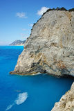 Rocks near Porto Katsiki Beach, Lefkada, Ionian Islands Stock Image
