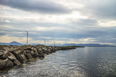 Rocks in Norway. Beautiful rocks and mountains in Norway Royalty Free Stock Photo