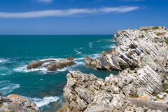 Rocks in ocean Royalty Free Stock Photo