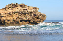 Rocks in the ocean Stock Image
