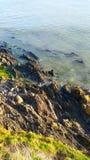 Rocks och hav Arkivbilder