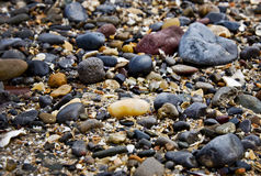Rocks och pebbles Arkivbilder