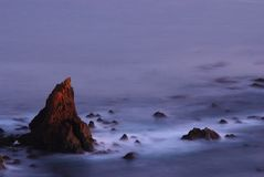 Rocks off of Southern Californ Royalty Free Stock Photography
