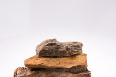 Rocks overlapped Royalty Free Stock Image