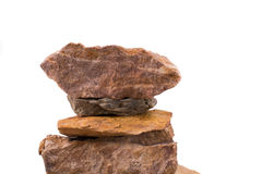 Rocks overlapped Royalty Free Stock Photos