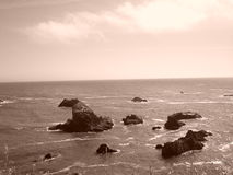 Rocks of the Pacific Royalty Free Stock Photos