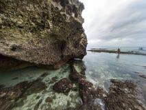 Rocks at Padang padang beach. Royalty Free Stock Images