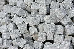 Rocks Pattern. Clean isolation of a bunch of cobblestones Royalty Free Stock Images