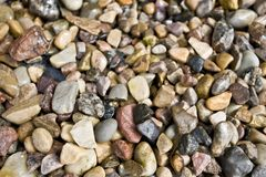 Rocks And Pebbles Royalty Free Stock Images