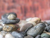Rocks and pebbles Stock Image