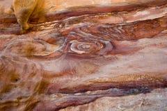 Rocks in Petra in Jordan Royalty Free Stock Image