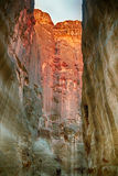 Rocks, Petra, Jordan Royalty Free Stock Photos