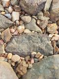Rocks. A picture of a rock as a background Stock Photography