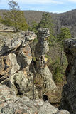 Rocks Pinnacle in the Wilds Royalty Free Stock Photo