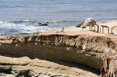 Rocks on Point Loma Landscape stock photography