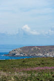 Rocks at Pointe du Raz Royalty Free Stock Photos