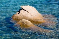 Rocks at Porto Cervo Stock Images
