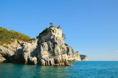 Rocks in Portovenere Royalty Free Stock Images