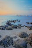 Rocks of Punggol Beach #1 Stock Photography