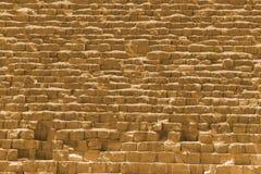 Rocks of the pyramid Royalty Free Stock Photo