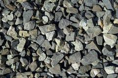 Rocks from Railroad track. stock photos