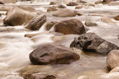 Rocks and rapids Stock Photo