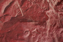 Rocks red wall Royalty Free Stock Images