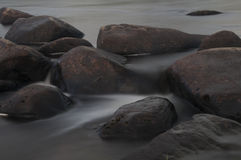 Rocks in the river Stock Image