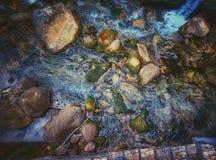 Rocks river stock image