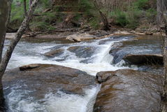 Rocks river and rapids Royalty Free Stock Image