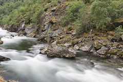 Rocks in the River Royalty Free Stock Photos