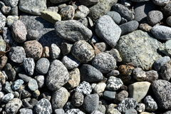 rocks in river water background Stock Image