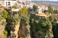 Rocks Ronda Royalty Free Stock Photography