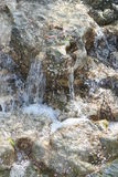 Rocks. With running water Royalty Free Stock Photo
