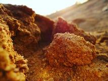 Rocks and salts stock photography