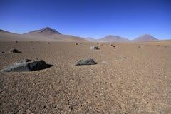 Rocks from Salvador Dali painting, Eduardo Alveroa, Uyuni Bolivi Stock Photos