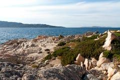 Rocks in Sardinia Royalty Free Stock Photos