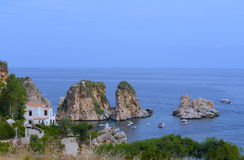 The Rocks - Scopello - Sicily West Coast Stock Photos