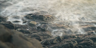 Rocks by Sea Royalty Free Stock Image