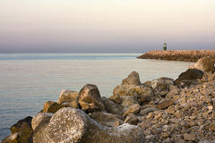 Rocks at sea Stock Photography